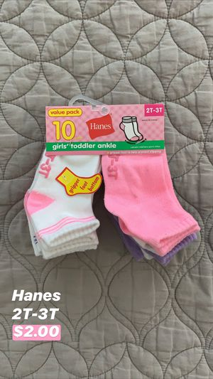 Hanes Toddler Socks for Sale in Seattle, WA