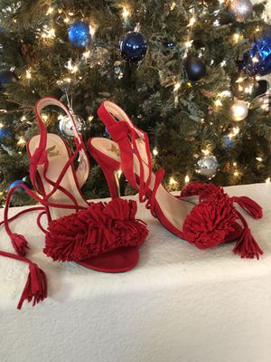 Red heels size 6 for Sale in San Tan Valley, AZ