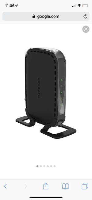Netgear cable modem cm400 for Sale in Everett, WA