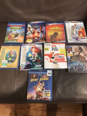 New, unopened Disney Blu-rays for Sale in Houston, TX