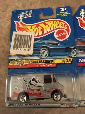 Hot wheels classic Toby hawk combat medic collectible die cast toy car van $5 trade hotwheels honda Nissan Datsun Subaru Mazda for Sale in Bloomington, CA