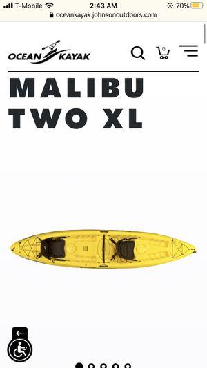 Malibu Two seater Ocean Kayak for Sale in San Juan Capistrano, CA