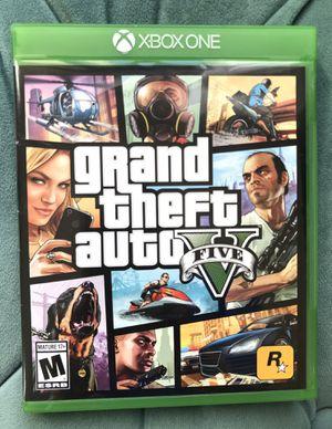 GTA 5 Xbox One Game Grand Theft Auto V for Sale in Alexandria, VA