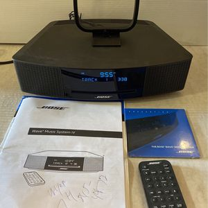 Bose Wave Music System IV 🔥 with REMOTE, AM / FM RADIO - CD PLAYER for Sale in Bell, CA