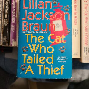The Cat Who Tailed A Thief, Lillian Jackson Braun, Paperback for Sale in Kent, WA