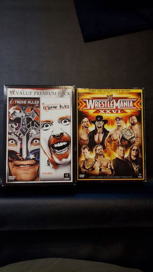 WWE dvds for Sale in Palm Harbor, FL