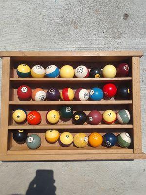 Vintage billiards balls for Sale in Compton, CA
