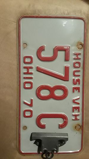 Vintage car plates home decor. for Sale in New York, NY