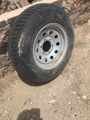 Trailer rim and tire $ 85 for Sale in Buckeye, AZ
