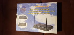 Awm6032u Audio 2000 Professional Wireless Microphone System for Sale in Los Angeles, CA