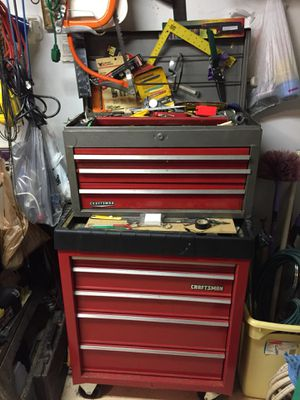 Craftsman Upper and Lower Tool Box for Sale in Simpsonville, SC