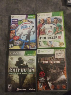 Xbox 360 games for Sale in Garden Grove, CA