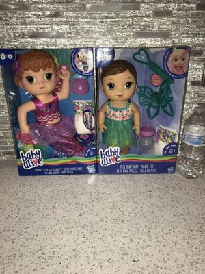 New in box. Baby alive. 2 new dolls for $35 firm for Sale in Las Vegas, NV