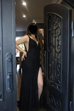 Black long special occasion dress (prom, wedding, cocktail dress) for Sale in Inglewood, CA