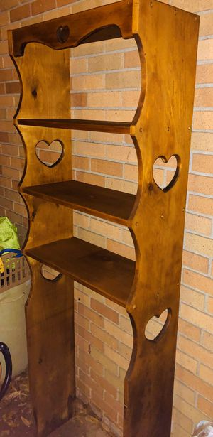 ~ Over-the-Toilet Storage Shelves Solid Wood for Sale in Mount Pleasant, SC