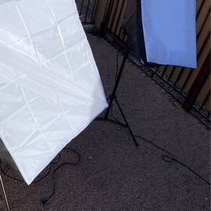 2 Soft box Lighting for photography for Sale in Phoenix, AZ
