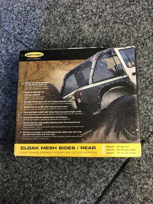 Jeep JK Cloak Mesh Sides / Rear part # 95501 (4door) for Sale in Corona, CA