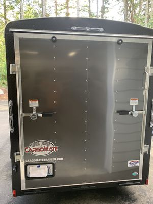 2020 cargo mate enclosed trailer 6' x 12' blazer extra tall with appearance package for Sale in Lacey, WA