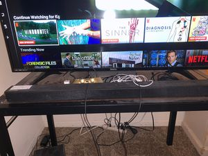 Samsung Surround Sound & 55in Sanyo tv for Sale in Murfreesboro, TN