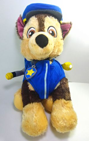 "Build a Bear Paw Patrol Chase BAB Workshop Plush 14"" Stuffed Animal Toy Dressed for Sale in Garland, TX"
