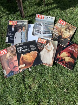 Vintage magazine bundle 6 for Sale in Stoughton, MA