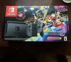 Nintendo Switch Mario Kart Bundle with extra Joy-Cons for Sale in Los Angeles, CA