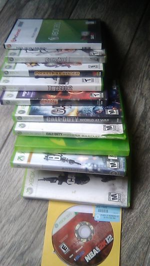 Xbox 360 video games for Sale in Moreno Valley, CA