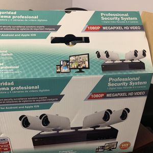 Full 1080p Security Camera Systems With 4 Year Warranty for Sale in Commerce, CA