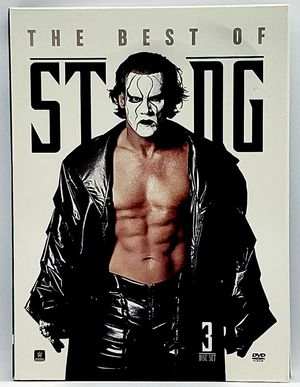 WWE: Sting - The Ultimate Collection (DVD, 2014, 3-Disc Set) WCW *RARE* for Sale in Harrisonburg, VA