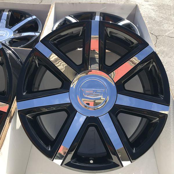 "New 22"" Oem Cadillac Escalade Factory Wheels 22 Inch Gloss"