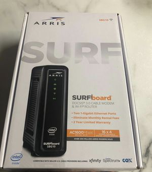 Arris router and modem combo. for Sale in Oklahoma City, OK