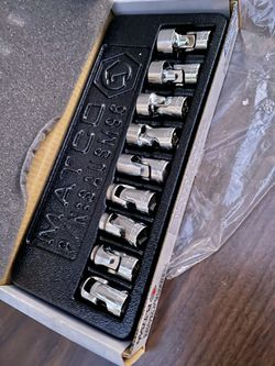 Matco 9pc - 1/4 Universal METRIC joint Socket Set (((( $215 )))) ❗️Open Box / Never Used ❗️ for Sale in Riverside, CA