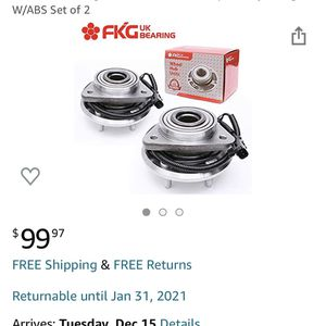 Wheel bearings Set of 2 for Sale in Murrieta, CA