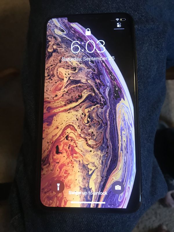 Unlocked iPhone XS MAX