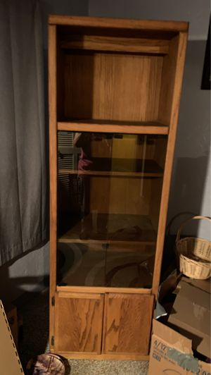 Solid wood entertainment cabinet for Sale in Redington Beach, FL