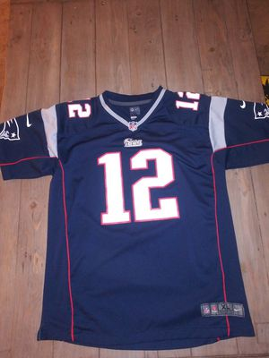 $50 OBO-Used Tom Brady Youth XL On Field Jersey for Sale in Arcadia, CA