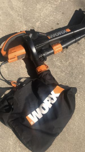 Worx Electric Leaf Blower for Sale in New Baltimore, MI