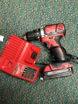 Drill, Tools-Power Milwaukee W/Battery & Charger CP2 .0 Negotiable for Sale in Baltimore, MD