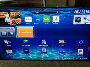 """Nice Samsung Smart 60"""" flat screen tv works great for Sale in Columbus, OH"""