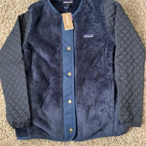 NWT Patagonia Womens Blue jacket XS for Sale in Rowland Heights, CA