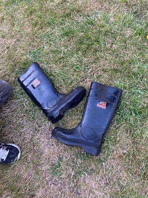 Steel toe rain boot size 8 for Sale in Beaverton, OR