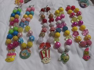 Shopkins Shiny Bubble Necklaces for Sale in Harlingen, TX