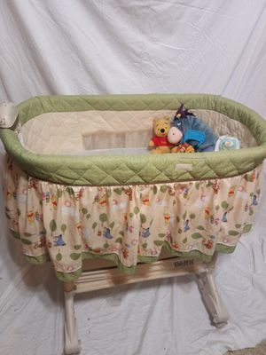 Winnie the Pooh bassinet & Accessories for Sale in Lawrenceville, GA