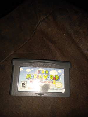 super Mario world Gameboy advance game for Sale in Long Beach, CA