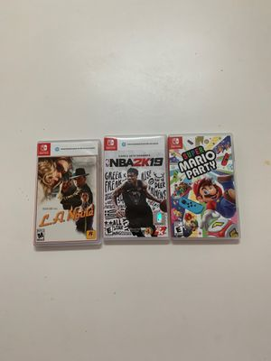 Switch Games for Sale for Sale in Doral, FL