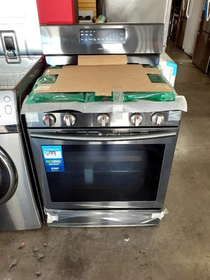 New Samsung 5 Burner Gas Stove for Sale in Hermosa Beach, CA
