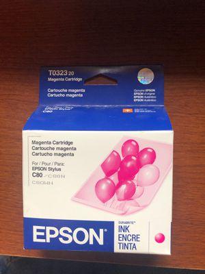 Epson T0323 magenta printer cartridge for Sale in Bozeman, MT