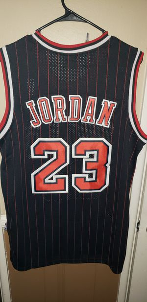 Men's Large Michael Jordan Chicago Bulls Jersey New with Tags Stiched Nike $45. Ships +$3 for Sale in West Covina, CA