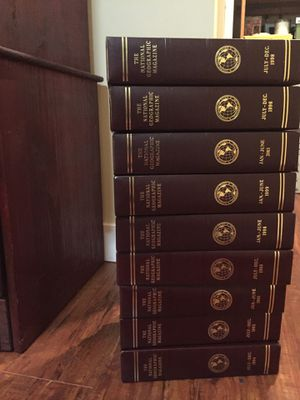 National geographics with leather back case for Sale in Long Beach, CA