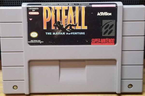 Pitfall Super Nintendo SNES